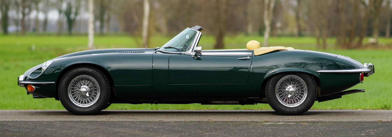 Jaguar E-type V12 convertible, 1973