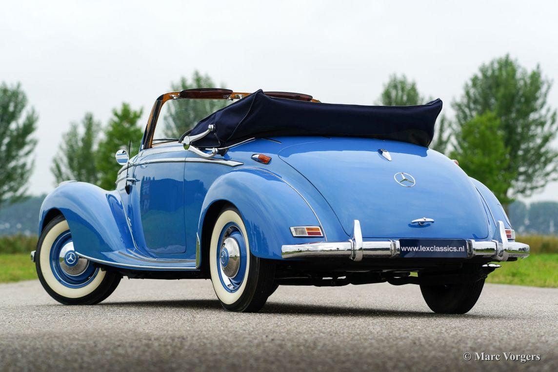 Mercedes benz 220a cabriolet 1954 classicargarage nl for Mercedes benz bentonville ar
