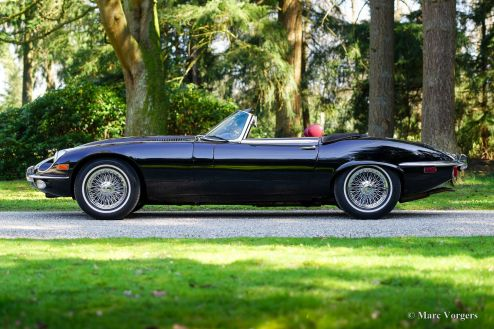 Jaguar E-type V12 roadster, 1971