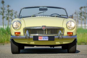 MG MGB roadster, 1968