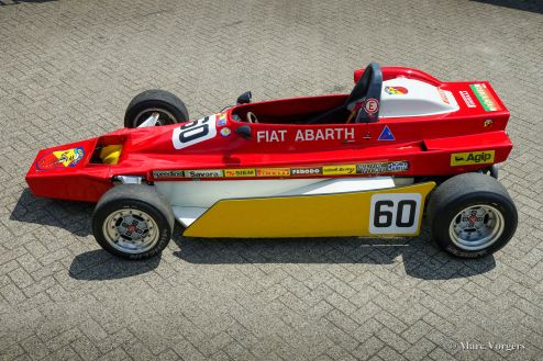 Fiat Abarth 033 Formula 2000 racing car, 1980