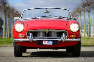 MG MGB roadster, 1970
