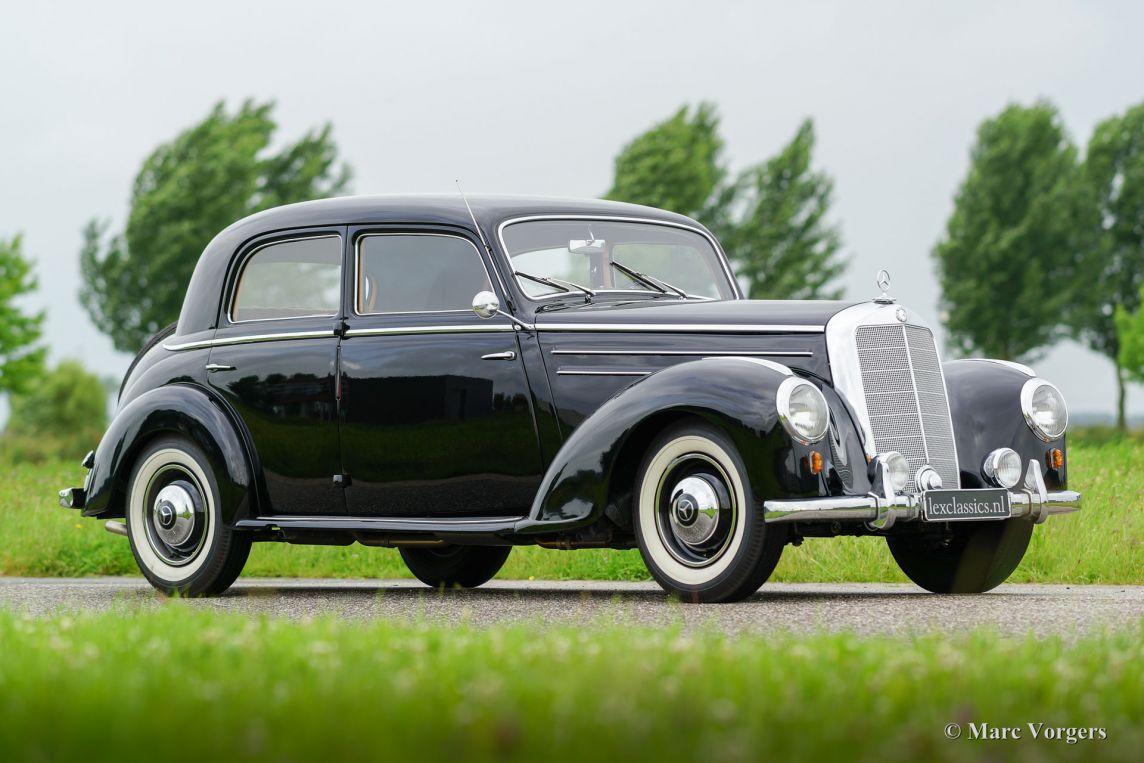 Mercedes benz 220 limousine 1952 classicargarage nl for Mercedes benz fayetteville ar