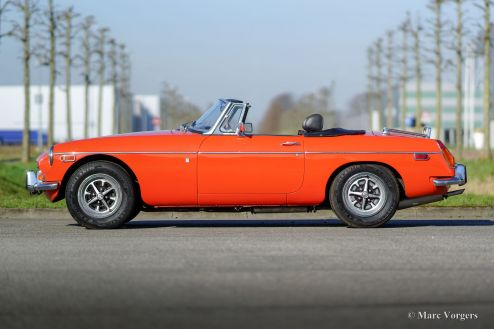 MG MGB roadster, 1974