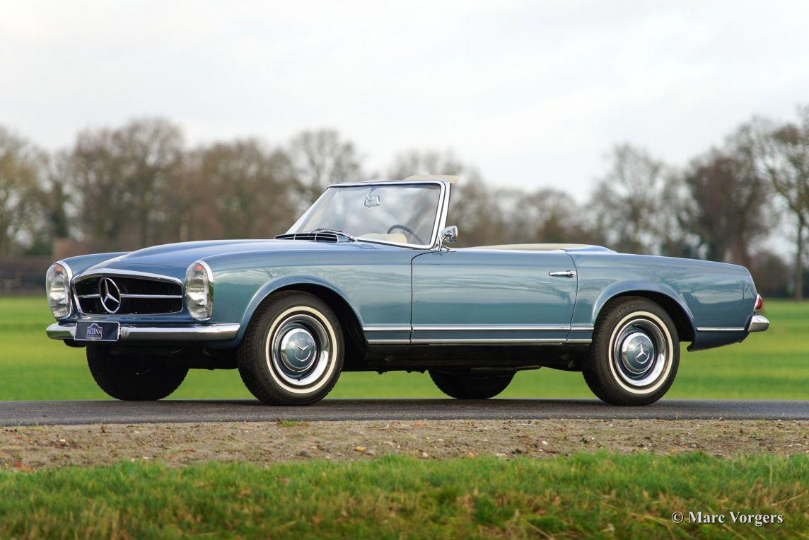 Mercedes benz 230 sl 39 pagode 39 1964 classicargarage nl for Mercedes benz bentonville ar