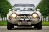 Triumph TR4 rally car, 1963