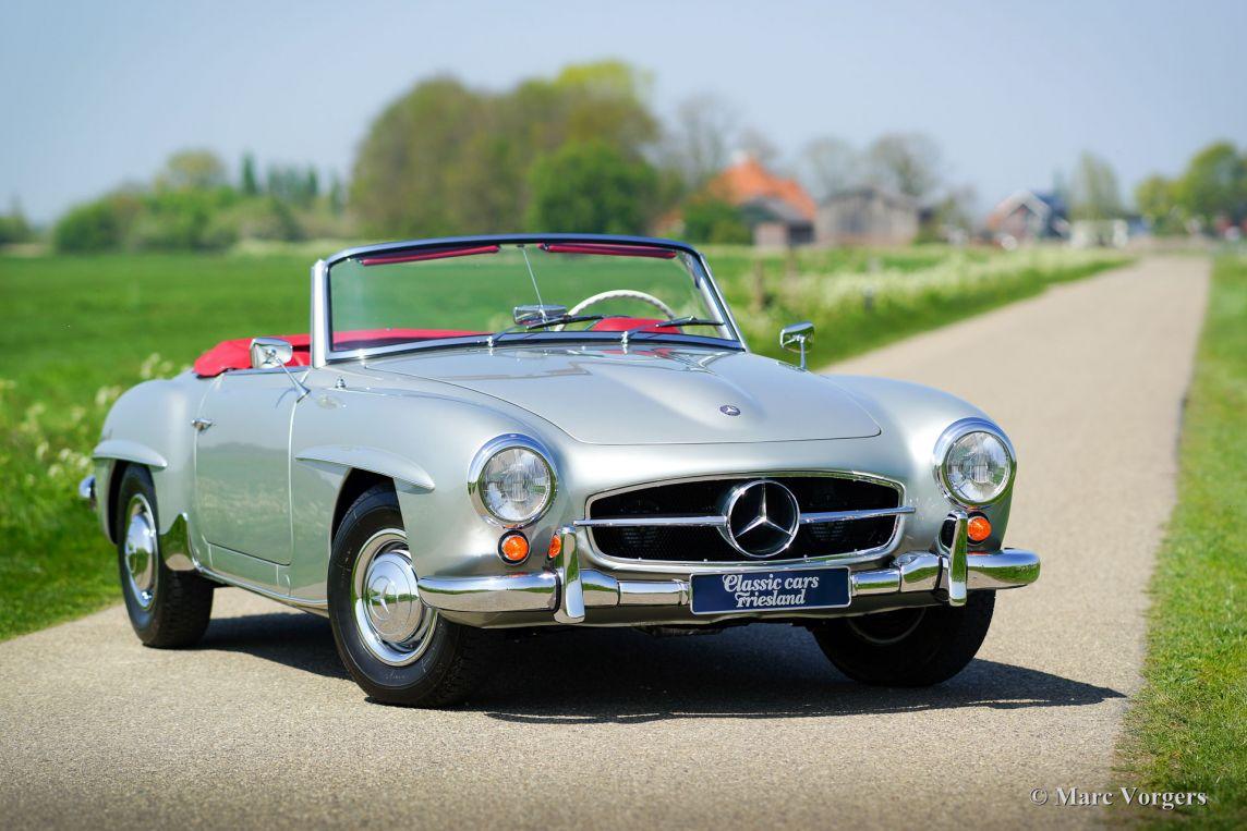 Mercedes benz 190 sl 1958 classicargarage nl for Mercedes benz fayetteville ar