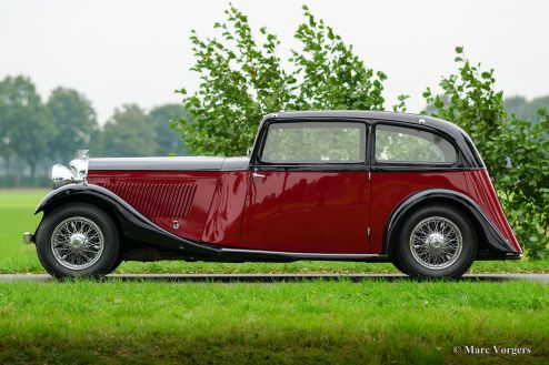 Bentley 3½ Litre 2-door Saloon, 1934