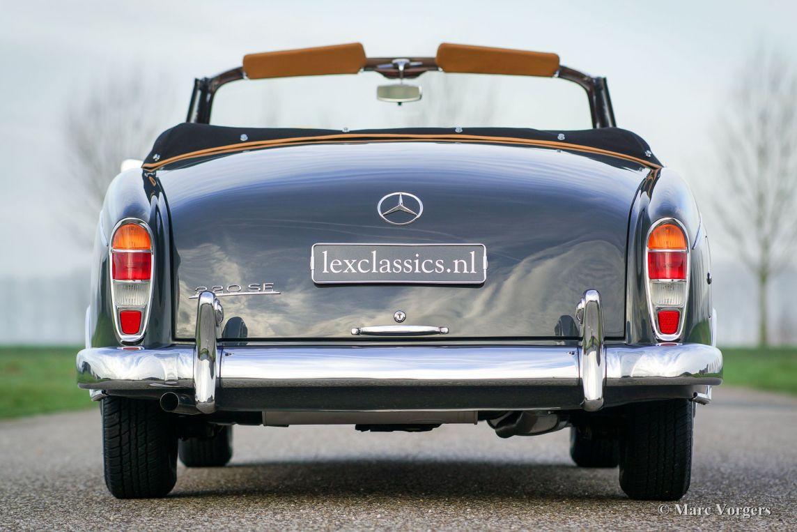 Mercedes-benz 220 Se Cabriolet  1960 - Classicargarage