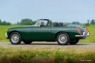 MG MGB roadster, 1972