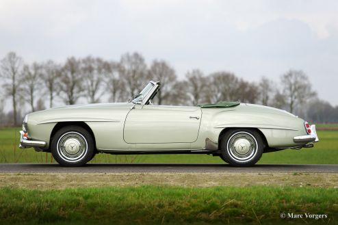 Mercedes-Benz 190 SL, 1961