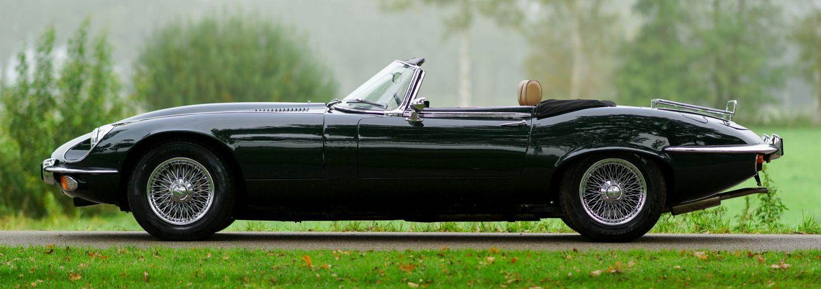 Jaguar E type V12 convertible, 1973 - Classicargarage - NL