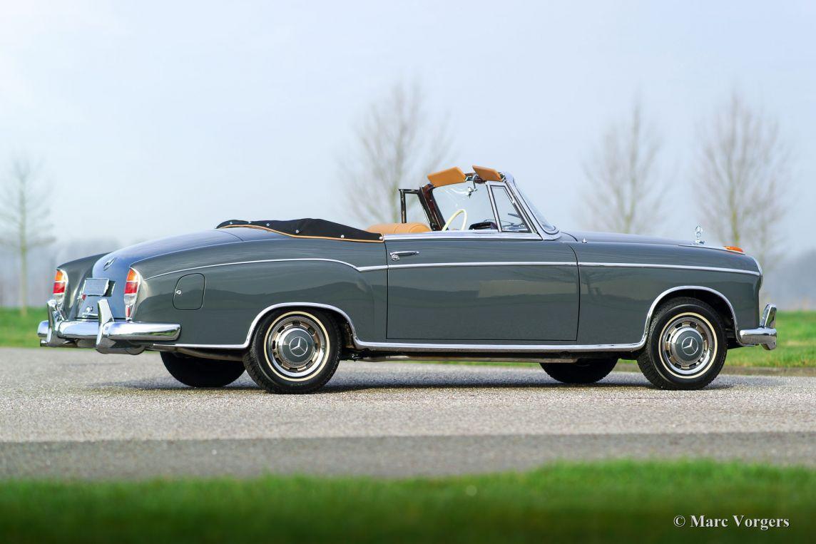 Mercedes benz 220 se cabriolet 1960 classicargarage nl for Mercedes benz bentonville ar