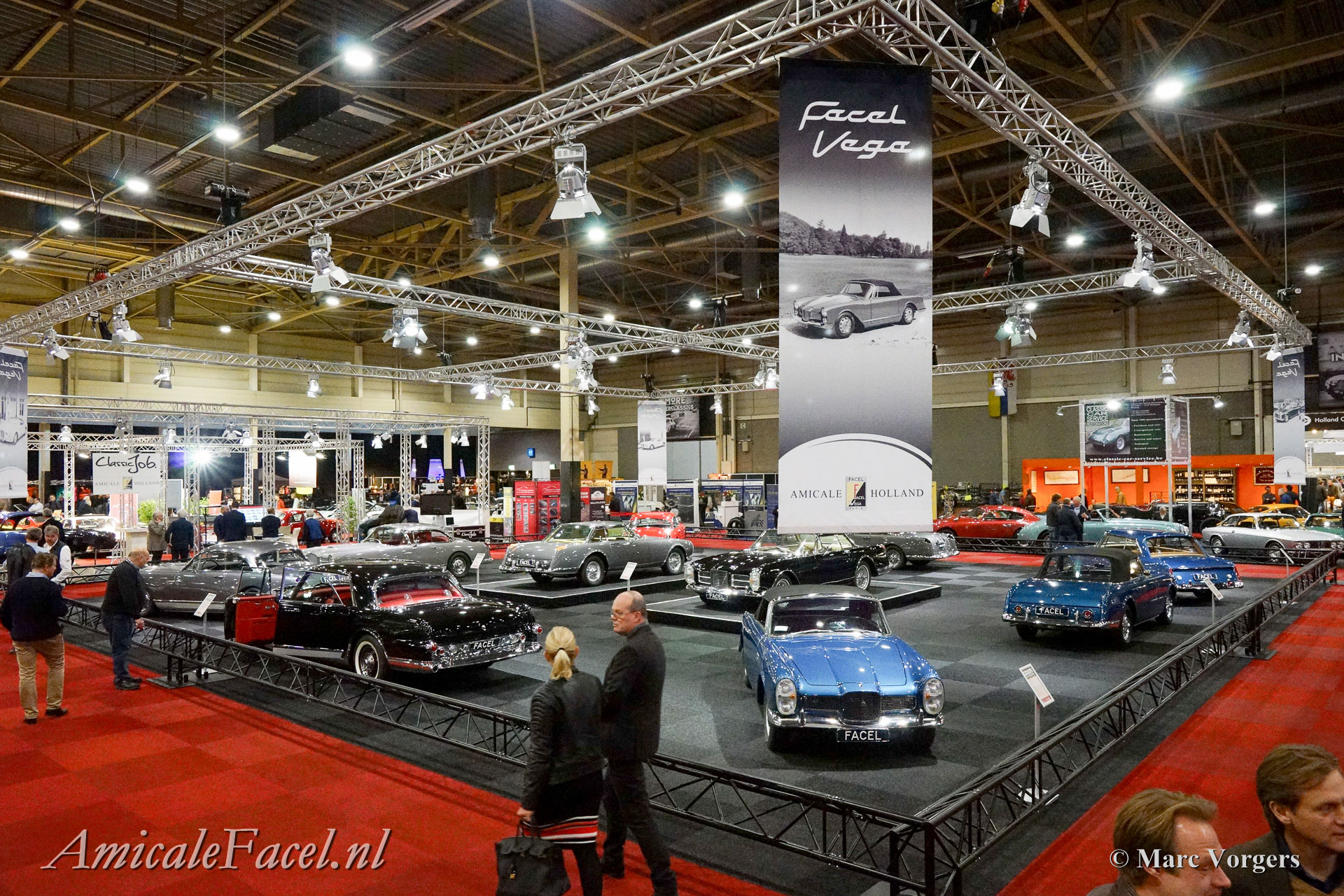 Facel Vega thema expositie InterClassics 2017